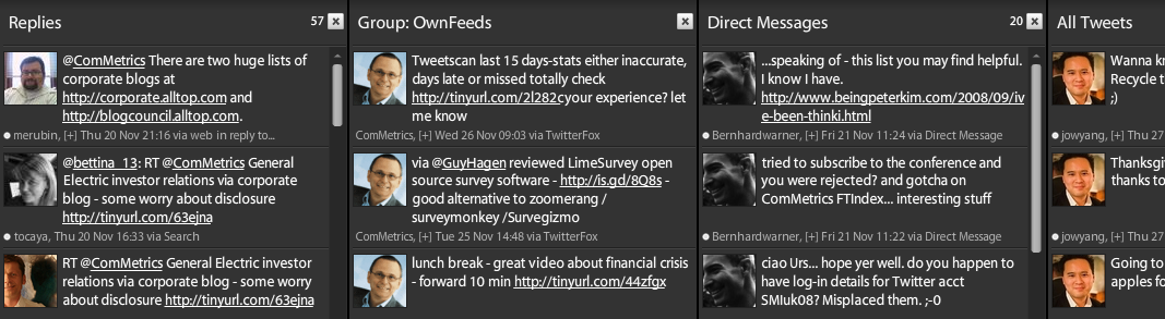 TweetDeck - get more effective using Twitter - use this nifty tool