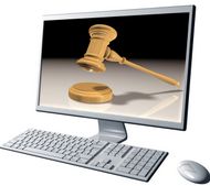 Image - Everything you share on Facebook, Twitter, Google Buzz or any other online social network can and will be used against you in a court of law.