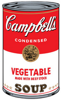 Image - 2010-12-29 - Campbell's soup instead of a turkey dinner - ComMetrics tweet - Instead of creating a full turkey dinner, people are serving canned soup: a stream of little things for instant consumption.