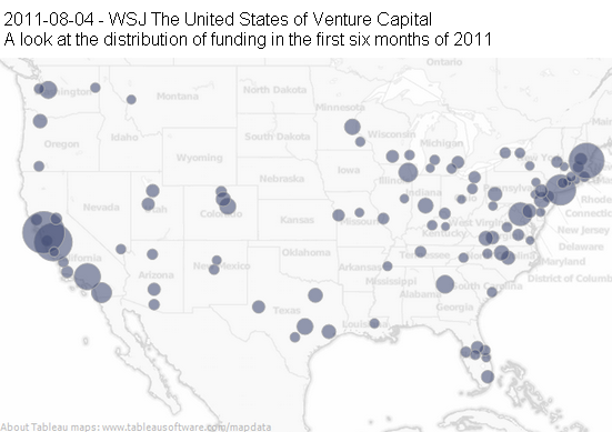 Image - infographic - Interactive Map: The United States of Venture Capital.