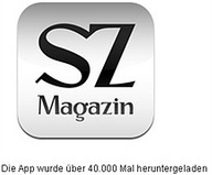 SZ Magazin App - logo - 40,000 downloads, but almost no revenue.