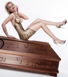 Click on image to view more - this is the least racy picture I found - Sex and caskets make for a more lively coffin market.