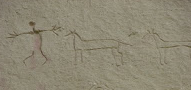 Click on image - Writing-on-Stone Provincial Park - stone carvings1 - image from Termite - the Blog.