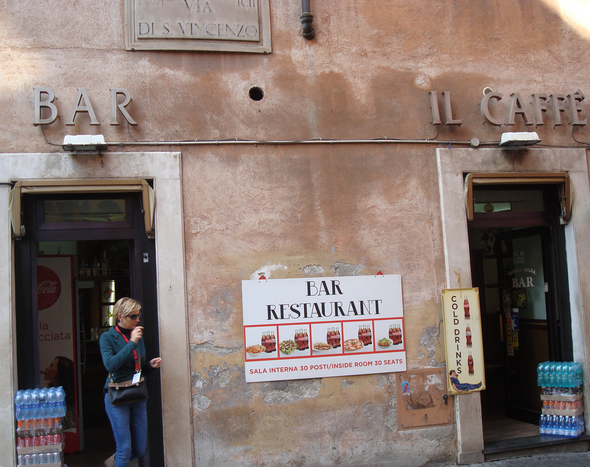 Click on image - Better service in Rome - tourist trap. A cultural challenge?