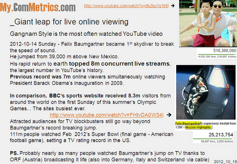 CLICK - 5 Tips from the Gangnam Style video
