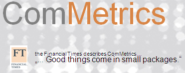 Image - Financial Times - about ComMetrics - good things come in small packages