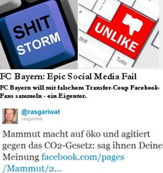 Klick auf Image - mach es besser mit My.ComMetrics als FC Bayern mit epic social media fail ODER Mammut und CO2 Gesetz - sag Ihnen die Meinung