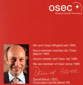 Image anklicken - Sponsorship für Osec.ch bei Ragusa (brand) der Firma Camille Bloch