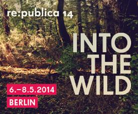 CLICK AUF GRAFIK - re-publica 2014 - Konferenz in Berlin vom 6 - 8 Mai, 2014